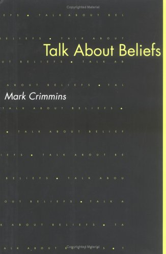 9780262031851: Talk About Beliefs (Bradford Books)