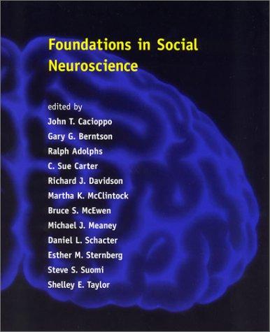 9780262032919: Foundations in Social Neuroscience (Social Neuroscience)
