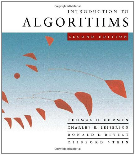 9780262032933: Introduction to Algorithms, Second Edition