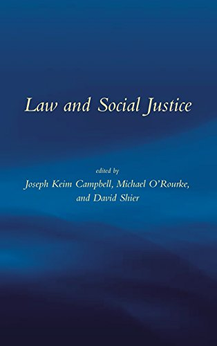Law & Social Justice.: ed. Joseph Keim