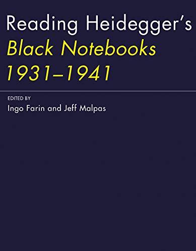 9780262034012: Reading Heidegger's Black Notebooks 1931-1941