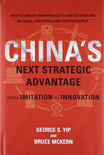 9780262034586: China's Next Strategic Advantage: From Imitation to Innovation (MIT Press)
