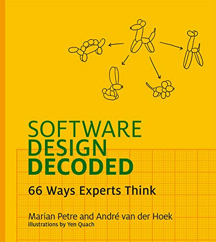 9780262035187: Software Design Decoded: 66 Ways Experts Think