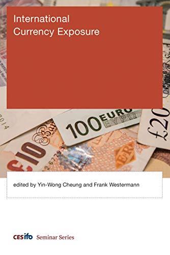 International Currency Exposure: Yin-Wong Cheung (editor),