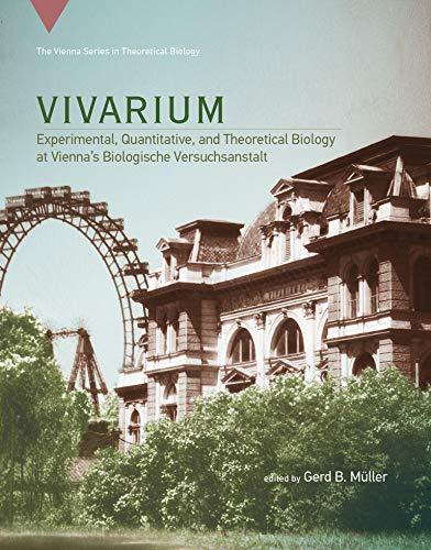Vivarium: Experimental, Quantitative, and Theoretical Biology at