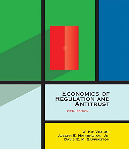 9780262038065: Economics of Regulation and Antitrust, fifth edition (The MIT Press)