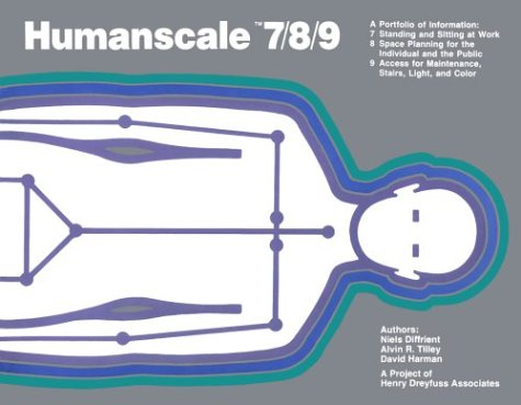 Humanscale 7/8/9: Diffrient, Niels; Tilley,