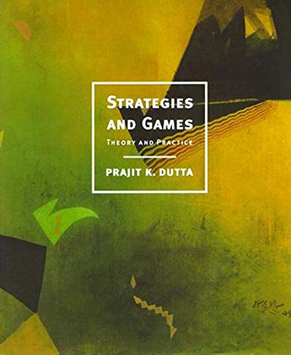 9780262041690: Strategies and Games: Theory and Practice