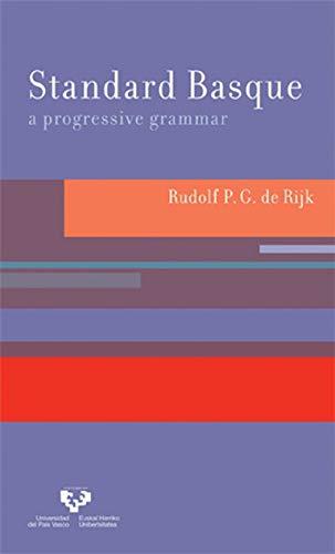 9780262042420: Standard Basque: A Progressive Grammar: Vol. 1 (Current Studies in Linguistics)