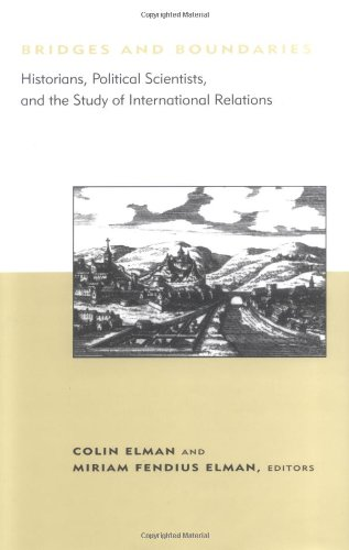 9780262050647: Bridges and Boundaries: Historians, Political Scientists, and the Study of International Relations