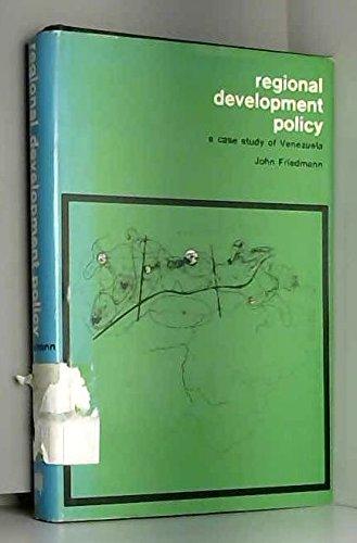 9780262060134: Regional Development Policy: A Case Study of Venezuela