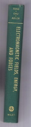 9780262060226: Electromagnetic Fields, Energy, and Forces
