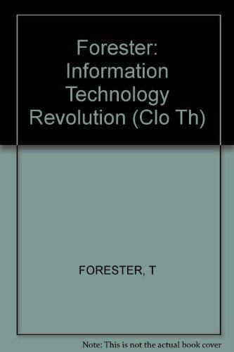 9780262060950: The Information Technology Revolution