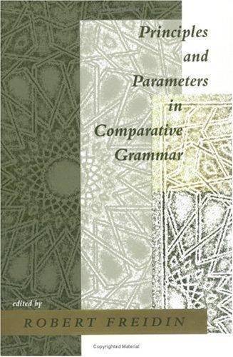 9780262061407: Principles and Parameters in Comparative Grammar (Current Studies in Linguistics)