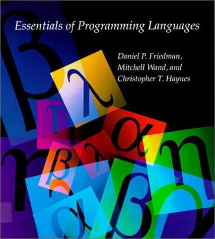 9780262061452: Essentials of Programming Languages