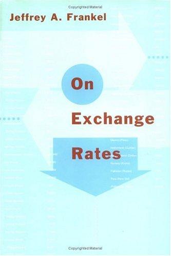 9780262061544: On Exchange Rates (MIT Press)