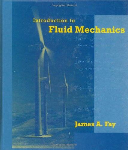 9780262061650: Introduction to Fluid Mechanics