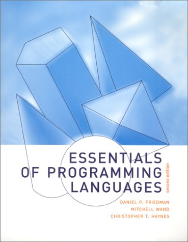 9780262062176: Essentials of Programming Languages - 2nd Edition