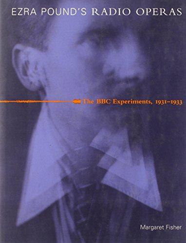 9780262062268: Ezra Pound's Radio Operas: The BBC Experiments, 1931-1933