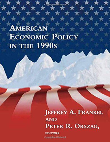 9780262062305: American Economic Policy in the 1990s