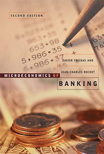 9780262062701: Microeconomics of Banking 2e