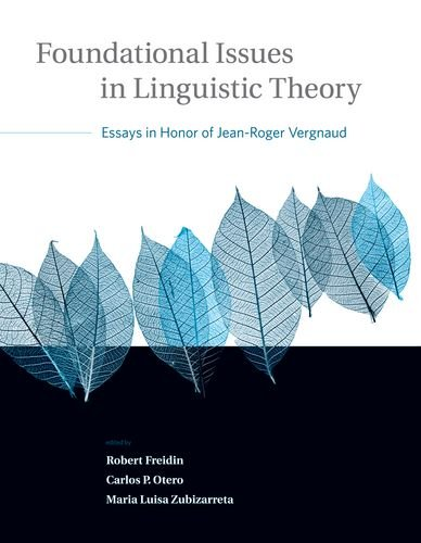 9780262062787: Foundational Issues in Linguistic Theory: Volume 45: Essays in Honor of Jean-Roger Vergnaud (Current Studies in Linguistics)