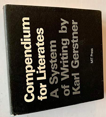 9780262070614: Compendium for Literates
