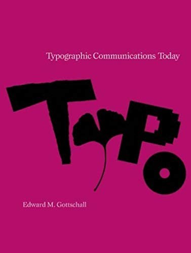 9780262071147: Typographic Communications Today