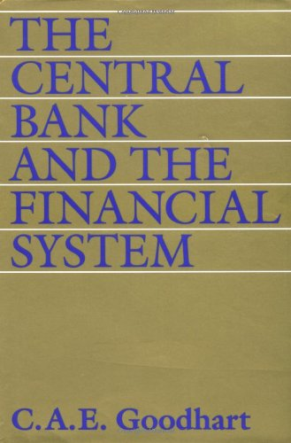 9780262071673: The Central Bank and the Financial System