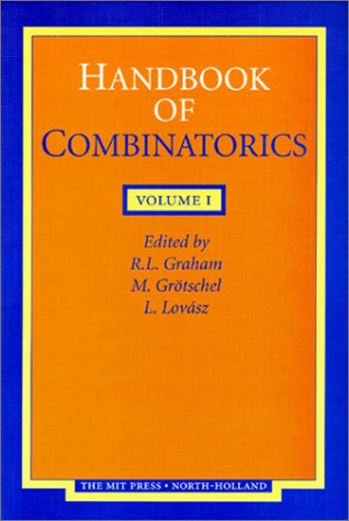 9780262071697: Handbook of Combinatorics
