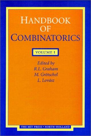 9780262071697: Handbook of Combinatorics: 2-volume set