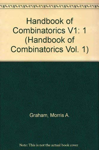 9780262071703: Handbook of Combinatorics, Vol. 1