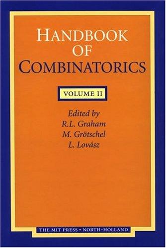 9780262071710: Handbook of Combinatorics, Vol. 2