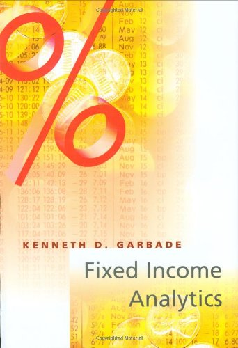 9780262071765: Fixed Income Analytics (Inside Technology)