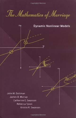 9780262072267: The Mathematics of Marriage: Dynamic Nonlinear Models (Bradford Book)