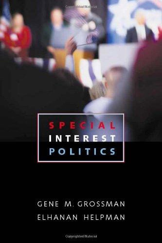 9780262072304: Special Interest Politics
