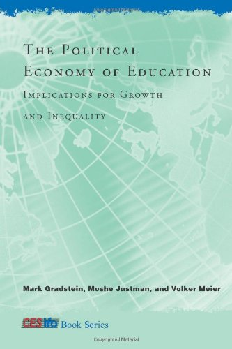 9780262072564: Political Economy of Education: Implications for Growth and Inequality (CESifo Book Series)