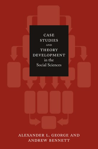9780262072571: Case Studies and Theory Development in the Social Sciences (Belfer Center Studies in International Security)