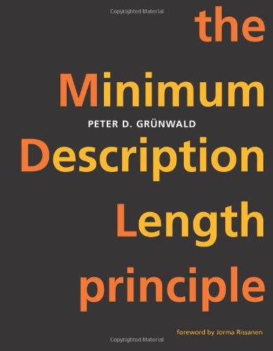 9780262072816: The Minimum Description Length Principle (Adaptive Computation and Machine Learning series)