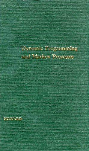 9780262080095: Dynamic Programming and Markov Processes (Technology Press Research Monographs)