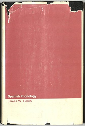 9780262080323: Spanish Phonology (Research Monograph)