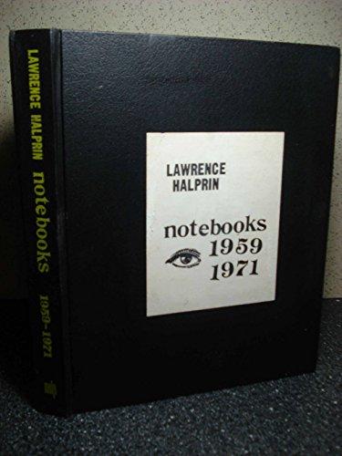 9780262080514: Lawrence Halprin Notebooks 1959-1971