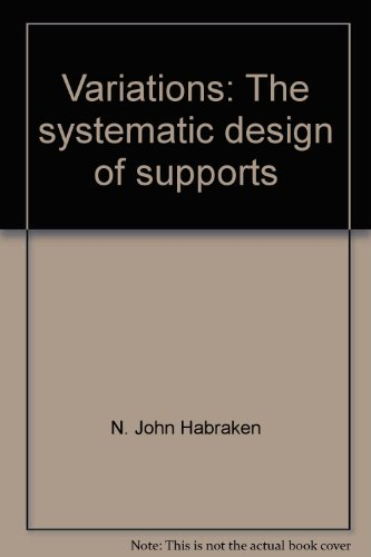 9780262080934: Variations: The Systematic Design of (Building) Supports