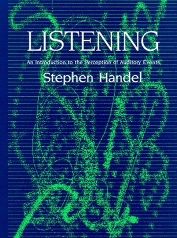 9780262081795: Listening: An Introduction to the Perception of Auditory Events