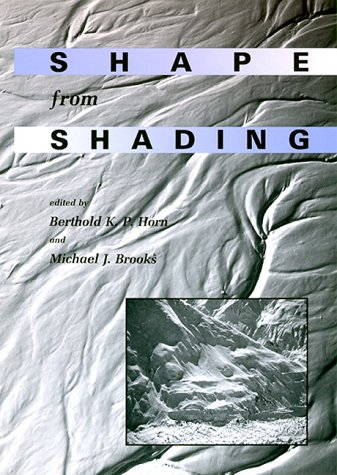 9780262081832: Shape From Shading (Artificial Intelligence)
