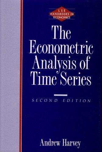 9780262081894: The Econometric Analysis of Time Series - 2nd Edition (London School of Economics Handbooks in Economics)