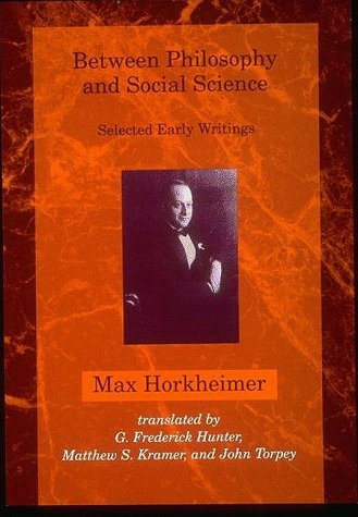 9780262082211: Between Philosophy and Social Science: Selected Early Writings (Studies in Contemporary German Social Thought)