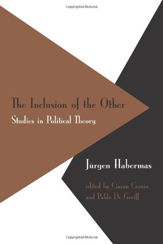 9780262082679: The Inclusion of the Other: Studies in Political Theory (Studies in Contemporary German Social Thought)