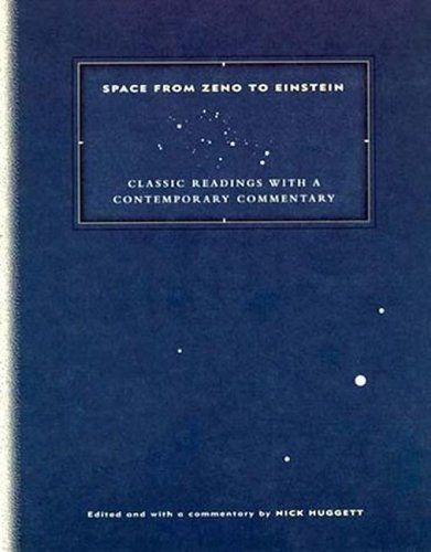 9780262082716: Space from Zeno to Einstein: Classic Readings With a Contemporary Commentary