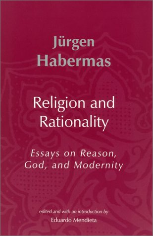 9780262083126: Religion and Rationality: Essays on Reason, God and Modernity (Studies in Contemporary German Social Thought)
